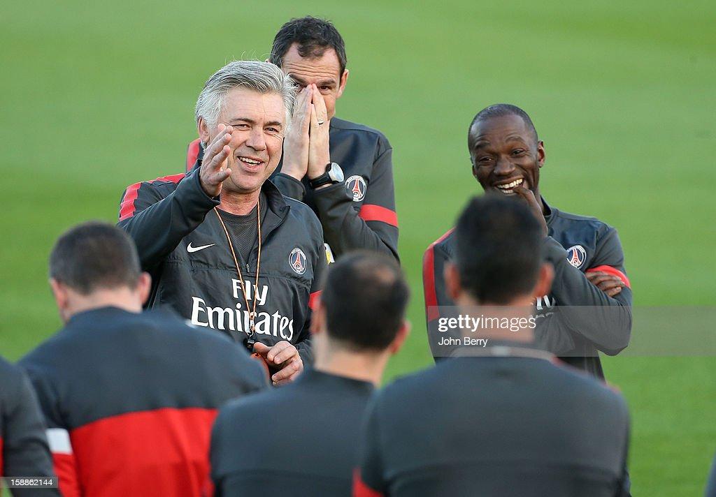 Paris Saint Germain Training Camp