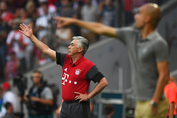 Bayern Muenchen v Manchester City F.C - Friendly Match : News Photo