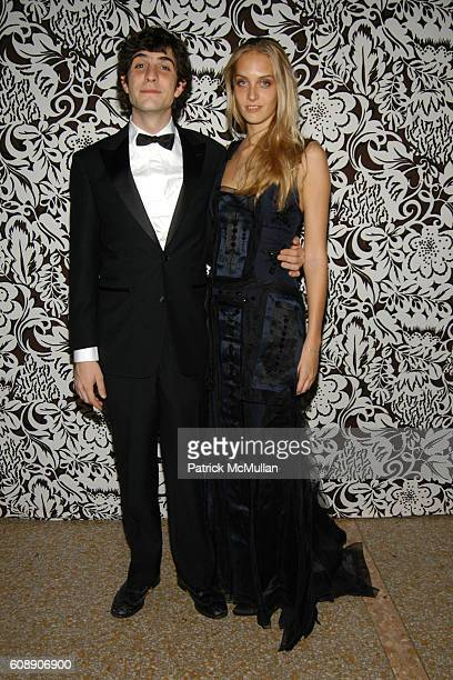 Carlo Borromeo and Matilde Borromeo attend The Apollo Circle Benefit at The Metropolitan Museum of Art on November 8 2007 in New York City