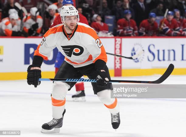 Carlo Colaiacovo of the Philadelphia Flyers plays in the game against the Montreal Canadiens at the Bell Centre on November 15 2014 in Montreal...