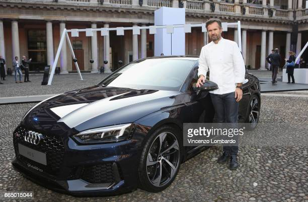 Carlo Cracco attends Audi City Lab on April 5 2017 in Milan Italy
