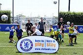 Carlo Cudicini of Chelsea during a Adidas / Chelsea FC Fan Fest on July 25 2016 in Norwalk California