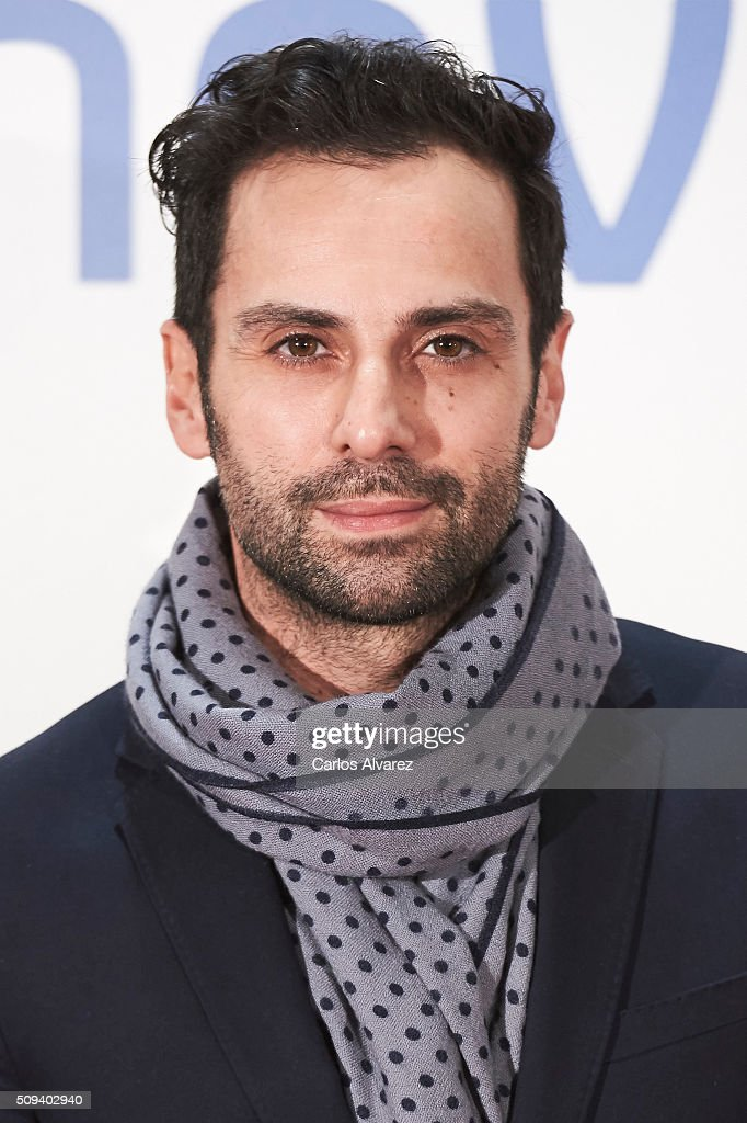 Carlo D'Ursi attends the 'Que fue de Jorge Sanz' premiere at the Proyecciones cinema on February 10, 2016 in Madrid, Spain.