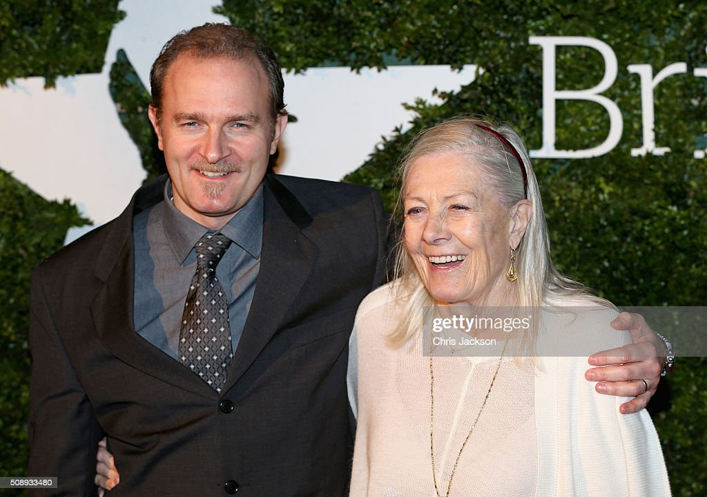 Carlo Gabriel Nero and <a gi-track='captionPersonalityLinkClicked' href=/galleries/search?phrase=Vanessa+Redgrave&family=editorial&specificpeople=169891 ng-click='$event.stopPropagation()'>Vanessa Redgrave</a> attend the London Evening Standard British Film Awards at Television Centre on February 7, 2016 in London, England.