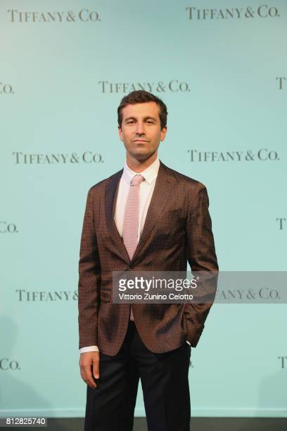 Carlo Mazzoni attends a cocktail party to celebrate the new Tiffany Co store in Piazza Duomo on July 11 2017 in Milan Italy