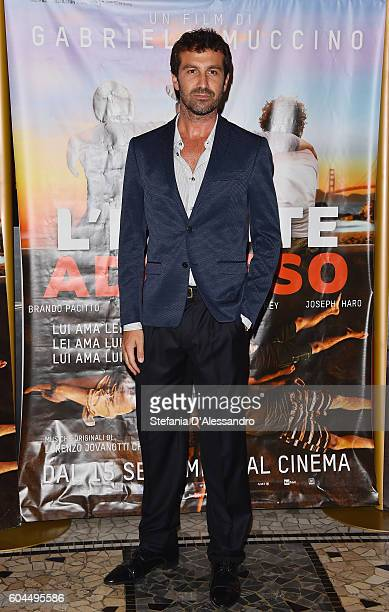 Carlo Mazzoni attends a photocall for 'L'Estate Addosso Summertime' on September 13 2016 in Milan Italy