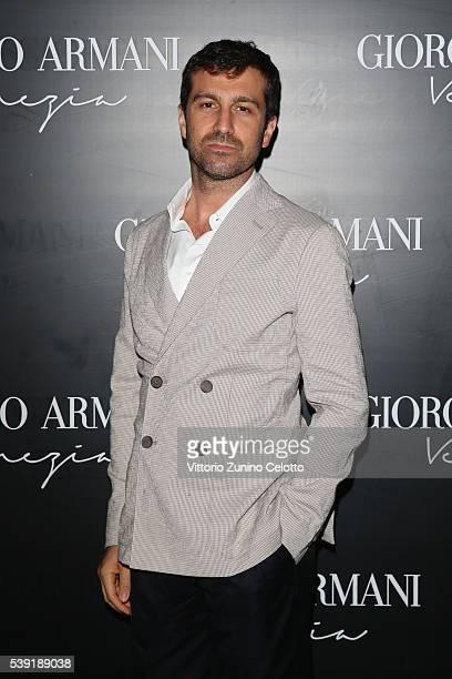 Carlo Mazzoni attends cocktail in celebration of the new Giorgio Armani boutique in Venice on June 9 2016 in Venice Italy