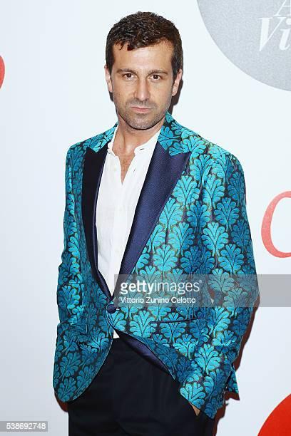 Carlo Mazzoni attends Convivio 2016 photocall on June 7 2016 in Milan Italy