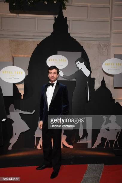 Carlo Mazzoni attends Grand Opening Party Hotel Eden of Hotel Eden on March 28 2017 in Rome Italy