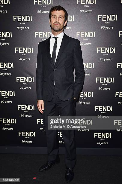Carlo Mazzoni attends the Fendi Roma 90 Years Anniversary Welcome Cocktail at Palazzo Carpegna on July 7 2016 in Rome Italy
