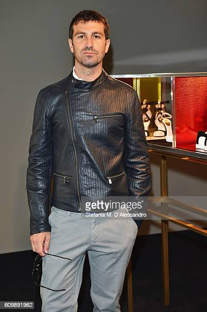 Carlo Mazzoni attends the Rene Caovilla Presentation during Milan Fashion Week Spring/Summer 2017 on September 23 2016 in Milan Italy