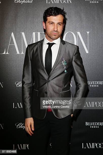 Carlo Mazzoni attends #THE ROYAL PUNK Party By Lampoon on February 23 2016 in Milan Italy