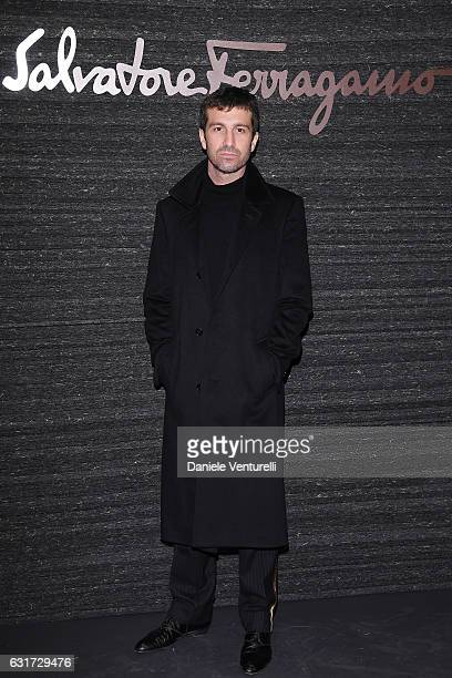 Carlo Mazzoni attends the Salvatore Ferragamo show during Milan Men's Fashion Week Fall/Winter 2017/18 on January 15 2017 in Milan Italy