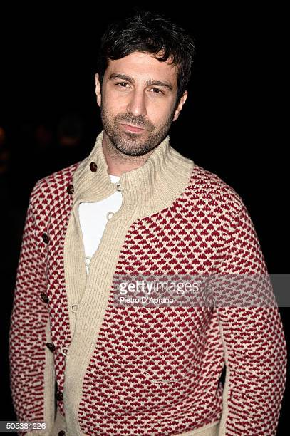 Carlo Mazzoni attends the Vivienne Westwood show during Milan Men's Fashion Week Fall/Winter 2016/17 on January 17 2016 in Milan Italy