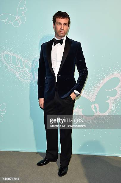 Carlo Mazzoni attends Tiffany Co New Store Opening Gala at La Fenice Theater on March 21 2016 in Venice Italy