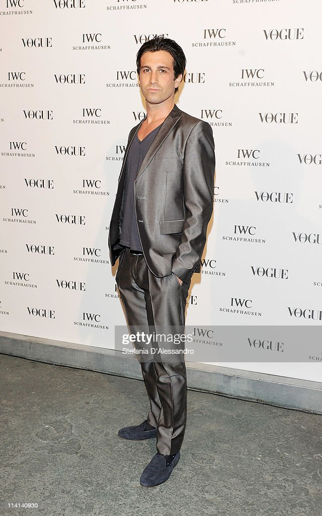 Carlo Mazzoni attends Vogue and IWC present 'Peter Lindbergh's Portofino' at 10 Corso Como on May 12, 2011 in Milan, Italy.