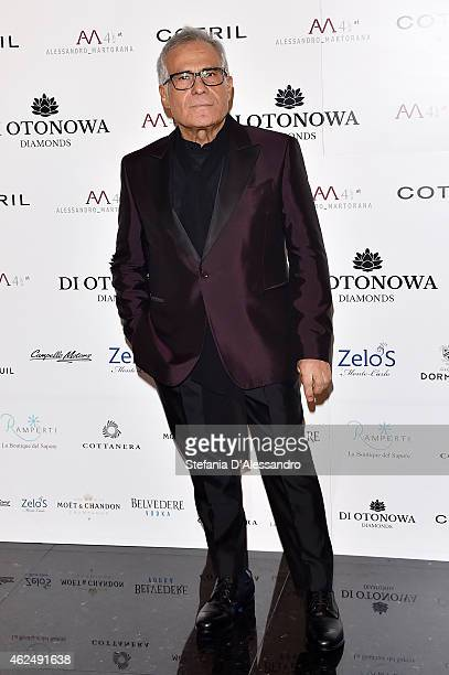 Carlo Pignatelli attends Alessandro Martorana's birthday party on January 29 2015 in Milan Italy