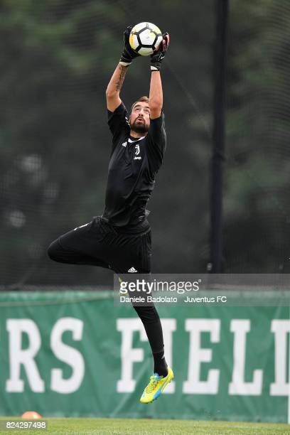 Carlo Pinsoglio of Juventus during the morning training session for Summer Tour 2017 by Jeep on July 29 2017 in Boston Massachusetts