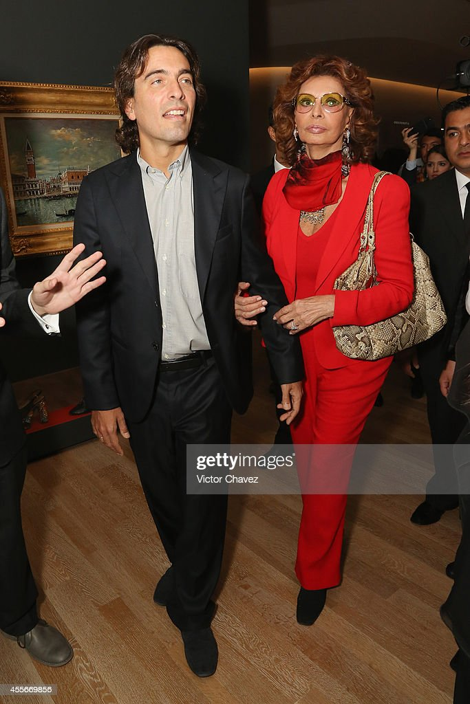 Sophia Loren Exhibition Celebrating Her 80th Birthday In Mexico City