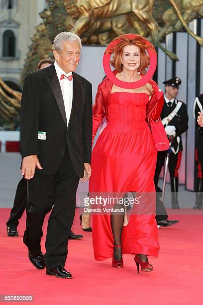 Carlo Ripa Di Meana and Marina Ripa Di Meana during 2005 Venice Film Festival Opening Night Ceremony and 'Seven Swords' Premiere at Sala Grande in...