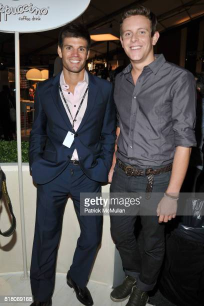 Carlo Romero and Grant Haines attend LINCOLN CENTER Atmosphere Day 2 at Lincoln Center on September 10 2010 in New York City