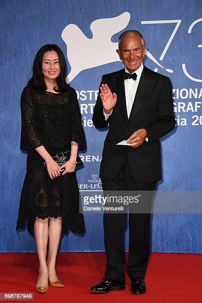 Carlo Rossella and guest attend the premiere of 'Franca Chaos And Creation' during the 73rd Venice Film Festival at Sala Giardino on September 2 2016...