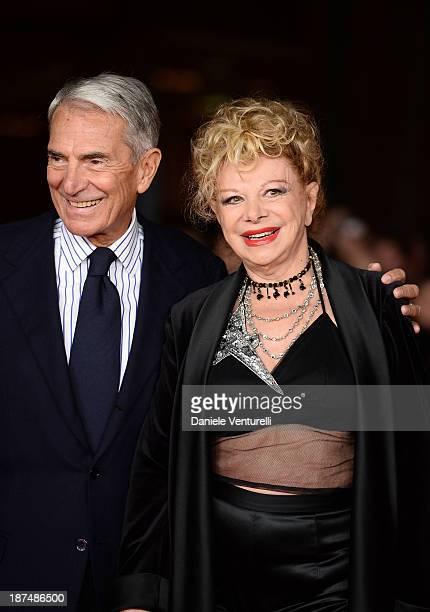 Carlo Rossella and Sandra Milo attend 'Dallas Buyers Club' Premiere during The 8th Rome Film Festival on November 9 2013 in Rome Italy