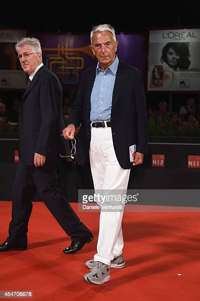 Carlo Rossella attends 'Perez' Premiere during the 71st Venice Film Festival at Sala Grande on September 5 2014 in Venice Italy