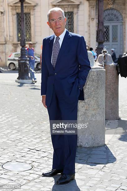 Carlo Rossella attends the David Di Donatello Awards Nominees At Palazzo Quirinale on June 10 2014 in Rome Italy