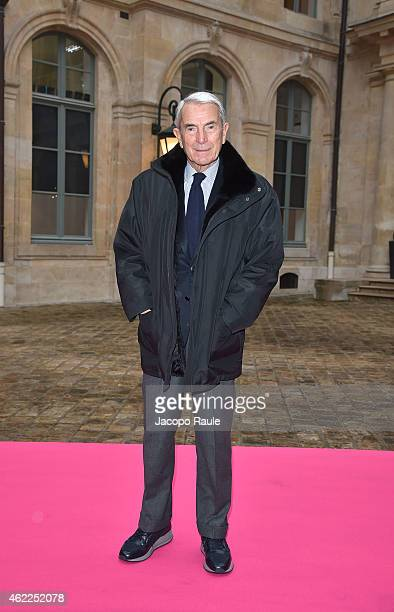 Carlo Rossella attends the Schiaparelli show as part of Paris Fashion Week Haute Couture Spring/Summer 2015 on January 26 2015 in Paris France