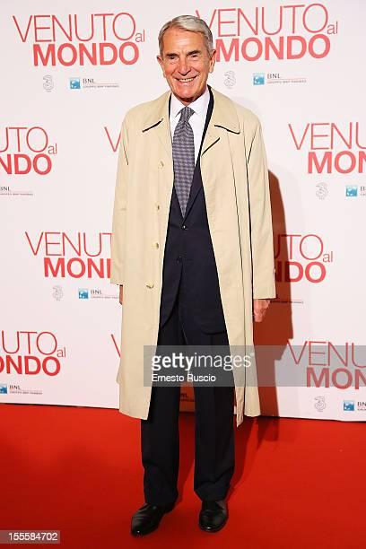 Carlo Rossella attends the 'Venuto Al Mondo' premiere at The Space Moderno on November 5 2012 in Rome Italy
