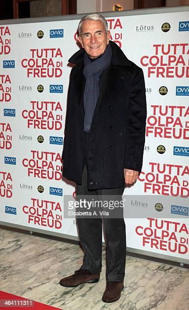 Carlo Rossella attends 'Tutta colpa di Freud' premiere at Teatro dell'Opera on January 20 2014 in Rome Italy