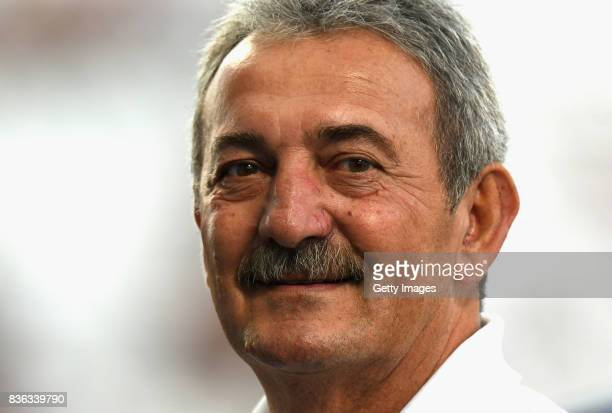 Carlo Rossi of US Sassuolo looks on before the Serie A match between US Sassuolo and Genoa CFC at Mapei Stadium Citta' del Tricolore on August 20...