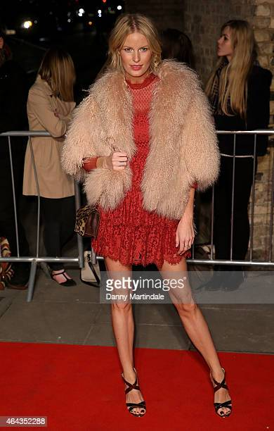 Carloline Winberg during the Naked Heart Foundation's World's First Fabulous Fund Fair at The Roundhouse on February 24 2015 in London England