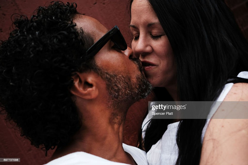 Carlos and Danielle, patients at a Brooklyn methadone clinic for those addicted to heroin, embrace on June 19, 2017 in New York City. The couple have been heroin free for two weeks and plan on getting married. Newly released data shows that over 1,370 New Yorkers died from overdoses in 2016, the majority of those deaths involved opioids. According to the Deputy Attorney General, drug overdoses are now the leading cause of death for Americans under the age of 50.