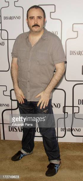 Carlos Areces attends 'Contemporary Terrace by Disaronno' party photocall at Atenas Terrace on July 4 2013 in Madrid Spain