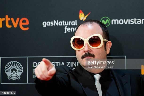 Carlos Areces attends 'Mi Gran Noche' premiere during 63rd San Sebastian Film Festival on September 20 2015 in San Sebastian Spain