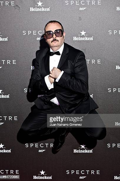Carlos Areces attends 'SPECTRE 007' premiere at Teatro Real on October 28 2015 in Madrid Spain