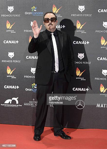 Carlos Areces attends the 2015 'Feroz' Cinema Awards at Gran Teatro Ruedo Las Ventas on January 25 2015 in Madrid Spain