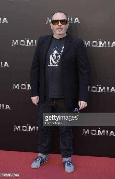Carlos Areces attends 'The Mummy' premiere at Callao cinema on May 29 2017 in Madrid Spain