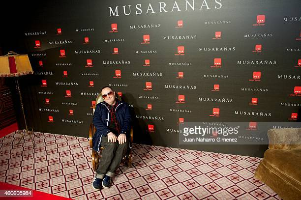 Carlos Areces attends the 'Musaranas' premiere at the Capitol cinema on December 17 2014 in Madrid Spain