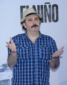 Carlos Areces attends the premiere of 'El Nino' at Kinepolis Cinema on August 28 2014 in Madrid Spain