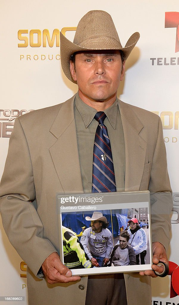Carlos Arredondo attends the Telemundo's Todos Somos Heroes Gala on May 7, 2013 in Miami, United States.