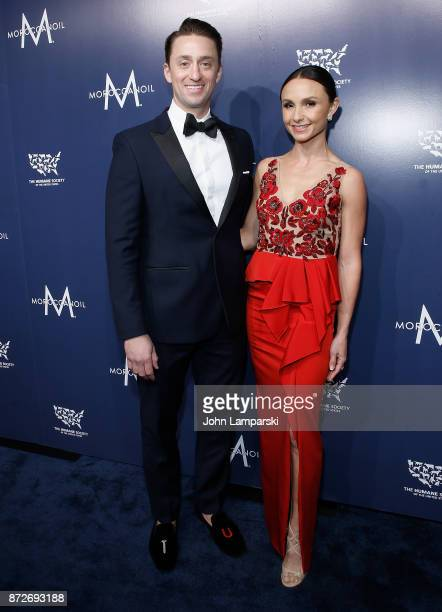Carlos Arruza and Georgina Bloomberg attend 2017 Humane Society of The United States to the Rescue New York Gala at Cipriani 42nd Street on November...