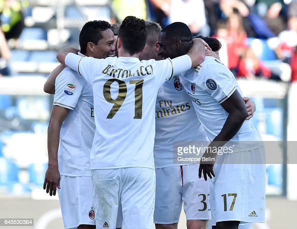 US Sassuolo v AC Milan - Serie A : News Photo