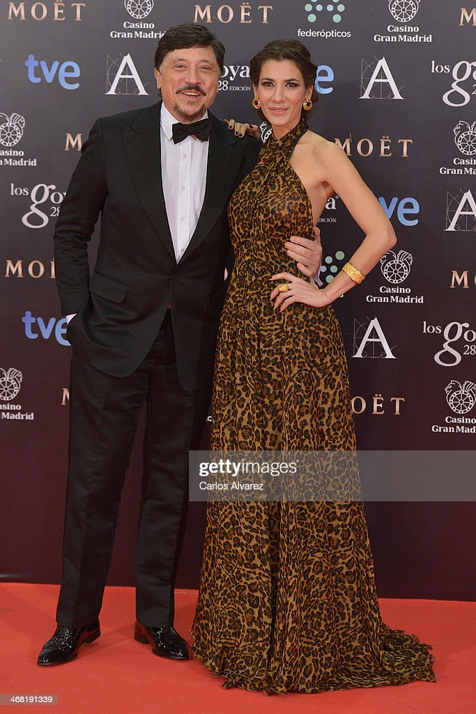 Carlos Bardem and Cecilia Gessa attend Goya Cinema Awards 2014 at Centro de Congresos Principe Felipe on February 9, 2014 in Madrid, Spain.
