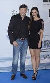 Carlos Bardem and Cecilia Gessa attend the premiere of 'El Nino' at Kinepolis Cinema on August 28 2014 in Madrid Spain