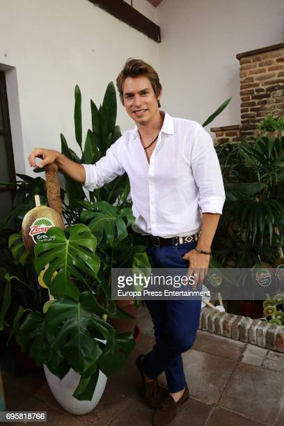 Carlos Baute attends 'Jardin Queramonos' by Zespri on June 13 2017 in Madrid Spain