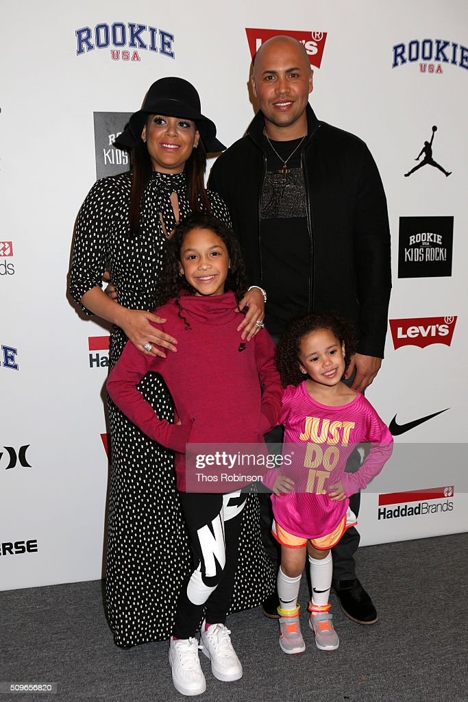 <a gi-track='captionPersonalityLinkClicked' href=/galleries/search?phrase=Carlos+Beltran&family=editorial&specificpeople=167108 ng-click='$event.stopPropagation()'>Carlos Beltran</a> and his family attend Nike/Levi's Kids Rock! Runway Show on February 11, 2016 in New York City.