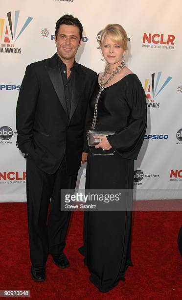 Carlos Bernard and guest arrive at the 2009 ALMA Awards held at Royce Hall on September 17 2009 in Los Angeles California
